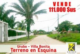 HERMOSO TERRENO EN URUBO VILLA BONITA