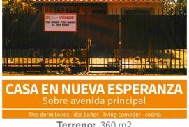 ID 393 - NESA Vende casa en la Urb. Nueva Esperanza, sobre Avenida Principal