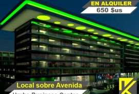 Oferta!!! Local a la Avenida en Urubo Business Center