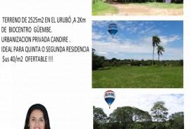 GRAN OPORTUNIDAD DE INVERSIÓN Terreno en venta en el URUBO