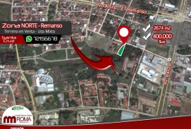 Terreno en venta - Uso Mixto - Zona Norte, Remanso