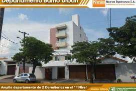NESA Vende amplio departamento de dos dormitorios en el B. Urbari!!