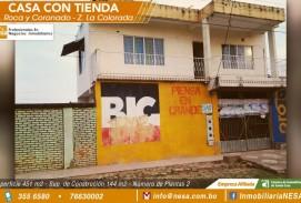 NESA Vende casa con tienda en el B. Roca y Coronado