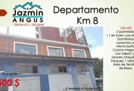 DEPARTAMENTO EN KM 8