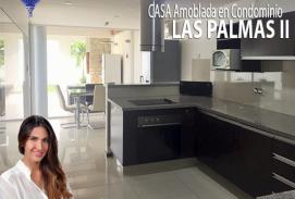 CASA AMOBLADA EN CONDOMINIO LAS PALMAS II