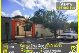 Centrica casa rentable Zona Mutualista