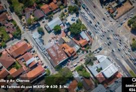 TERRENO calle Charcas casi 2do anillo