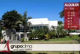CASA DE 3 DORM EN ALQUILER EN URUBÓ 1.500 $us