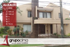 ESPECTACULAR CASA DE 4 DORM. ALMENANA 2do AN. 2.000 $us