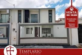 VENTA: 190.000$ Zona Norte 3er y 4to Anillo Casa a Estrenar