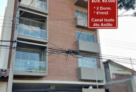 Venta: 65.000$ Canal Isuto 3er y 4to Anillo