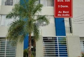 ALQUILER: 530$ Av. Beni 4to Anillo - 3 Dormitorios.