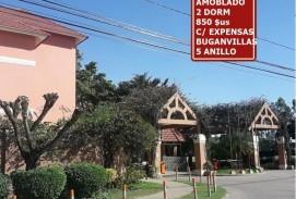 ALQUILER.- 850 $us DEPTO 2DORM TOTALMENTE AMOBLADO BUGANVILLAS