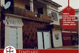 VENTA.- 230,000 $us CASA/TERRENO ZONA CANAL ISUTO