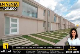 HERMOSAS CASAS A ESTRENAR CONDOMINIO CERRADO Z/NORTE
